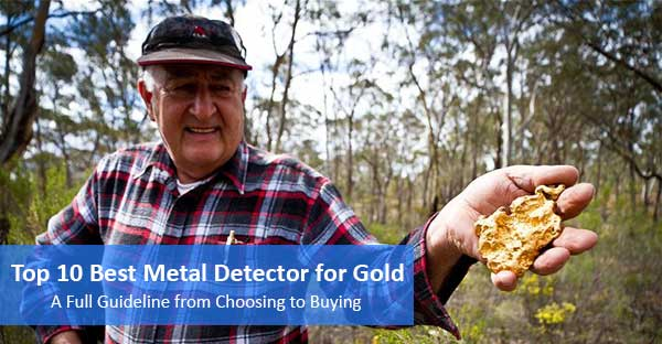 Best Metal Detector for Gold featured image