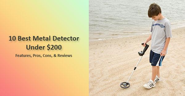 Best Metal Detector under 200 featured image