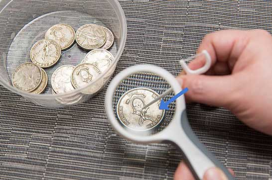 How to clean old coins without devaluing them