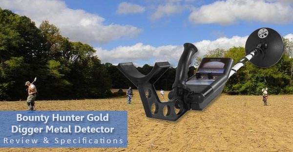 bounty hunter gold digger metal detector featured image