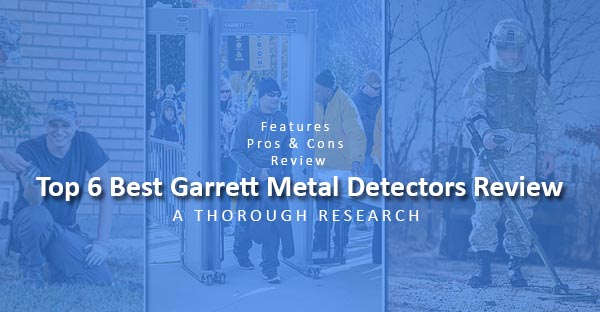 garrett metal detectors review featured image