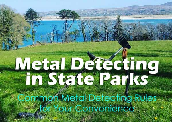 Metal detecting in state parks