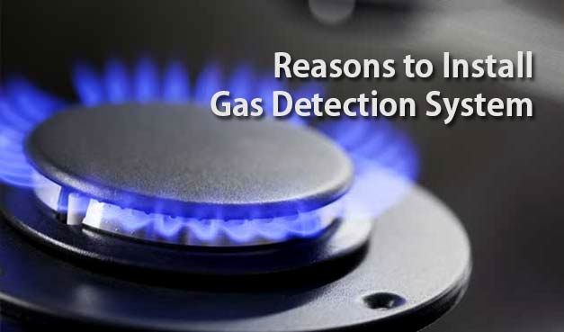 install gas detection system