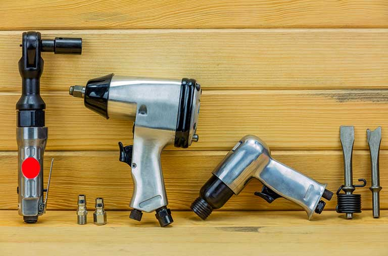 Tools Powered By Compressed Air